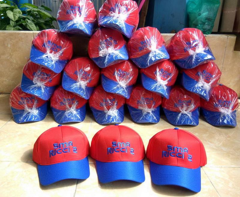 Model topi basebal caps bordir trucker caps sablon rimba untuk outbond di  lapangan . d96469d0e5